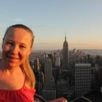 Jane Jenkins - New York sunset