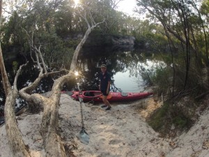 kayaking upper noosa river