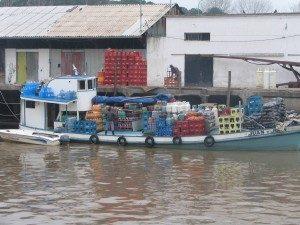 Market Boat at Tigre's Mercado de Frutos